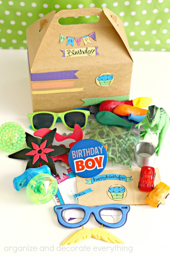 Birthday in a box 8.1