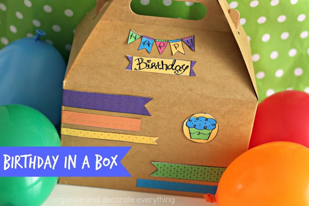 Birthday in a box.1