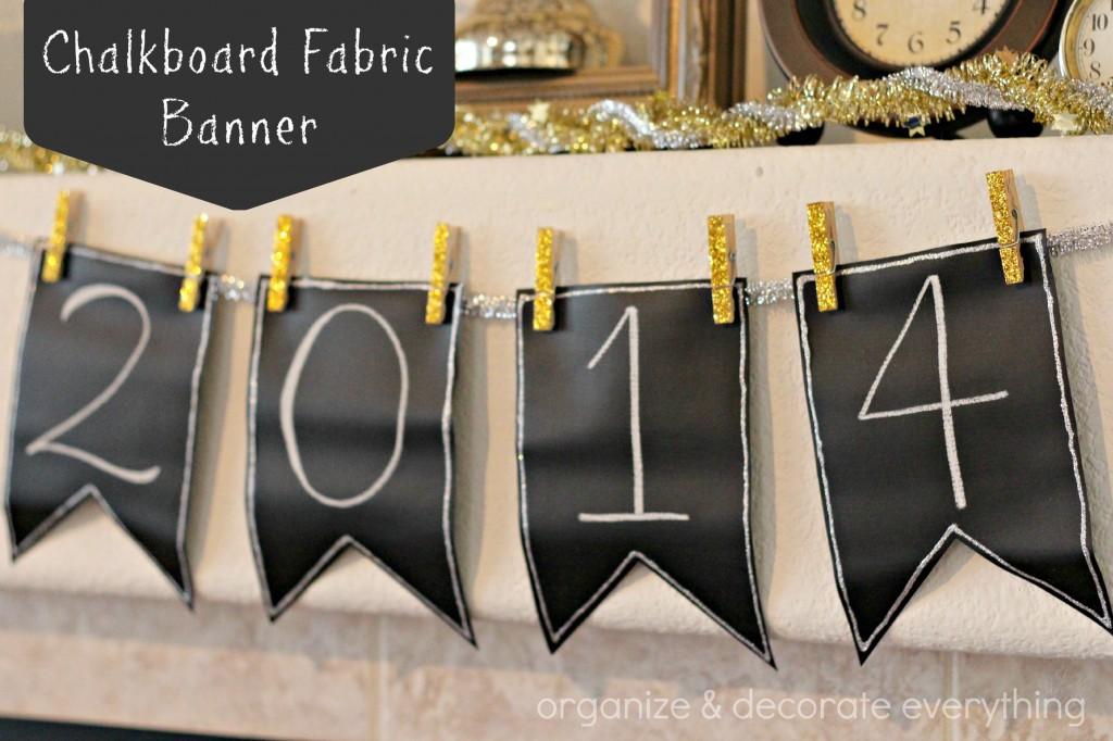 Chalkboard Fabric Banner.1