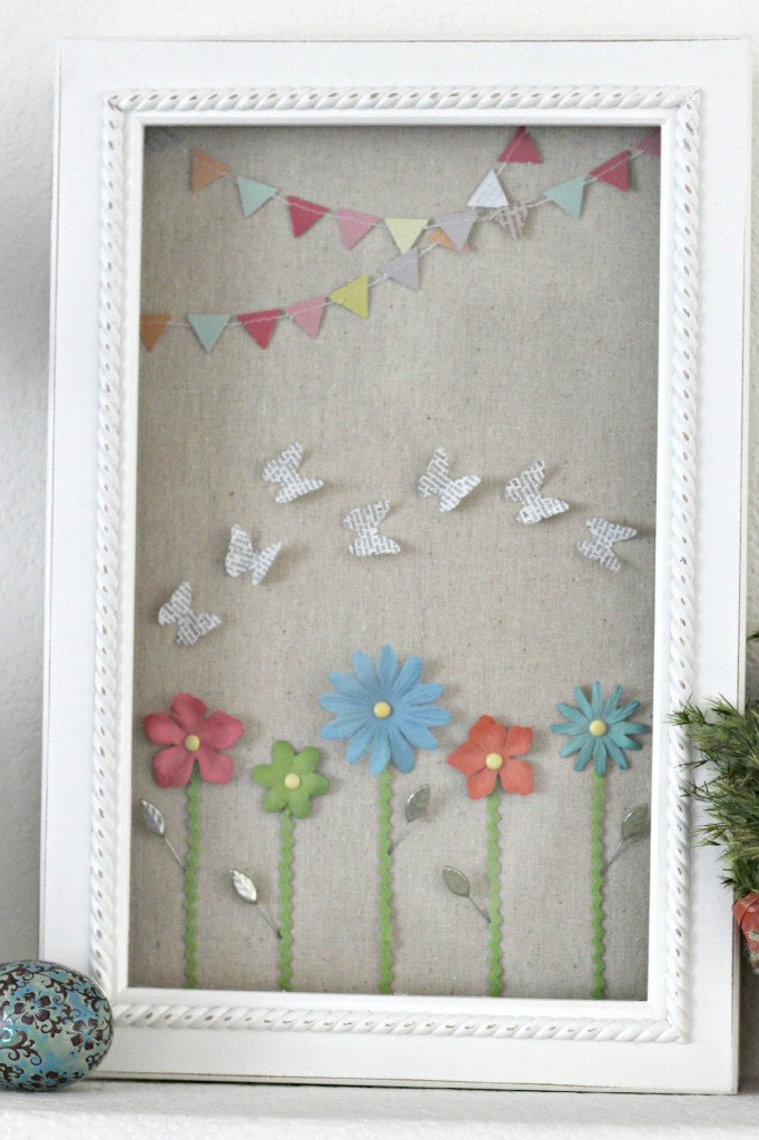 Colorful Easter Mantel 7