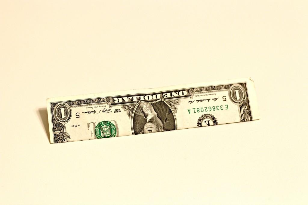 Dollar Bow Garland 5