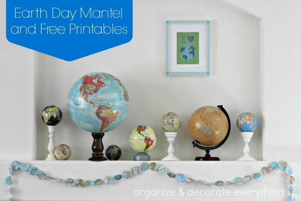Earth Day Mantel 2.1