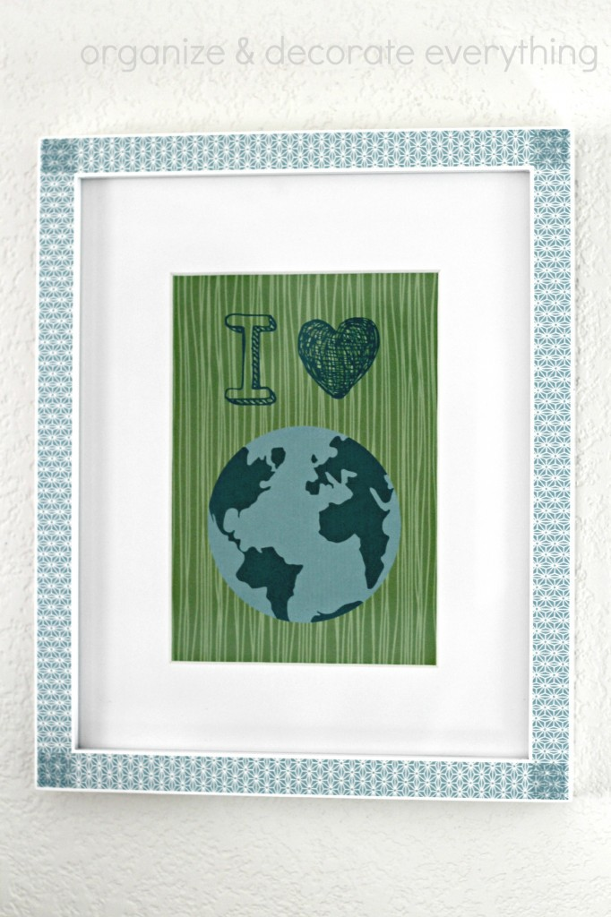 Earth Day Mantel 7.1