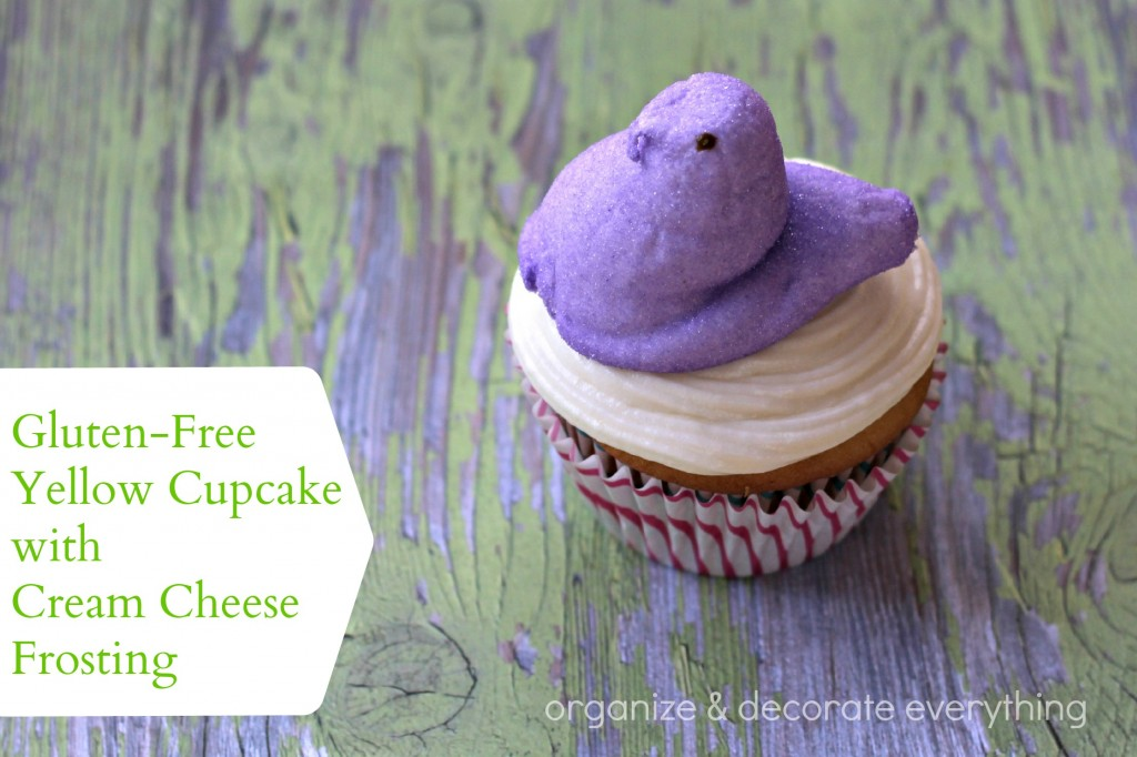 Gluten Free Yellow Cupcake with Cream Cheese Frosting 3.1