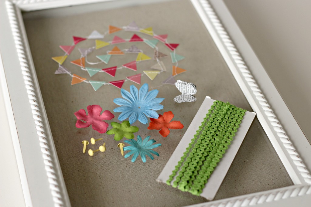 Shadow box flower garden 10