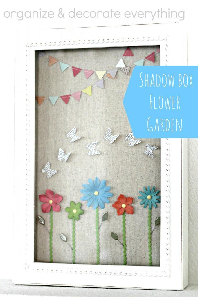 Shadow box flower garden 2.1