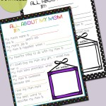 All About My Mom – Printable Contributor