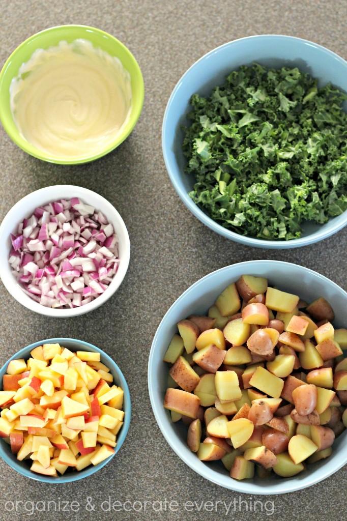 Apple Kale Potato Salad 2.1