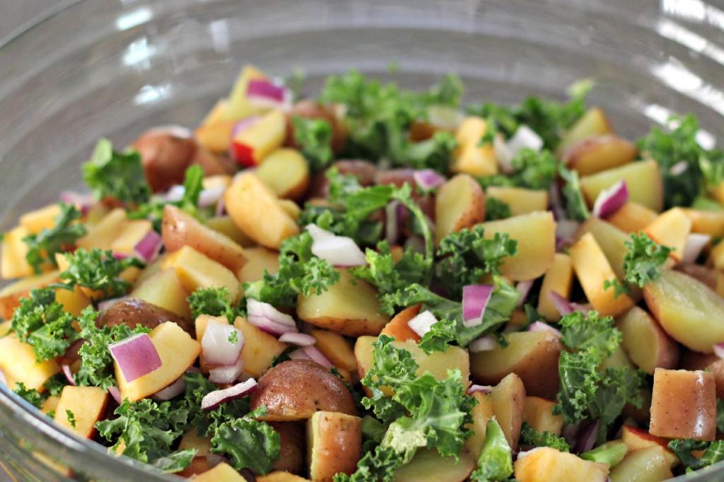 Apple Kale Potato Salad 8