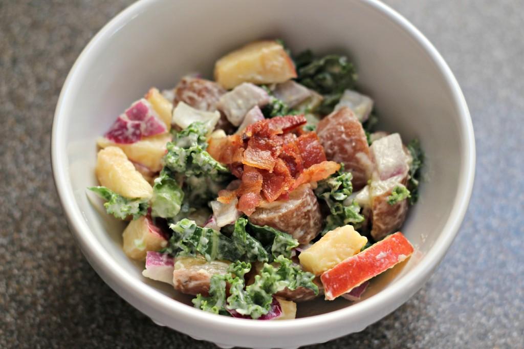 Apple Kale Potato Salad 9