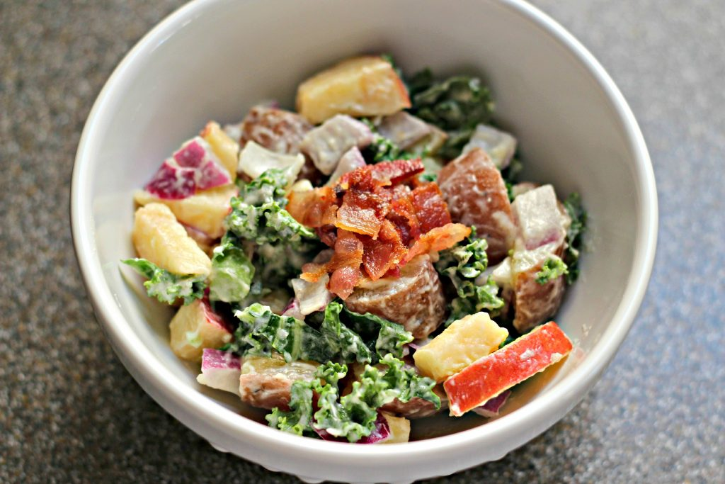 Apple Kale Potato Salad Individuals