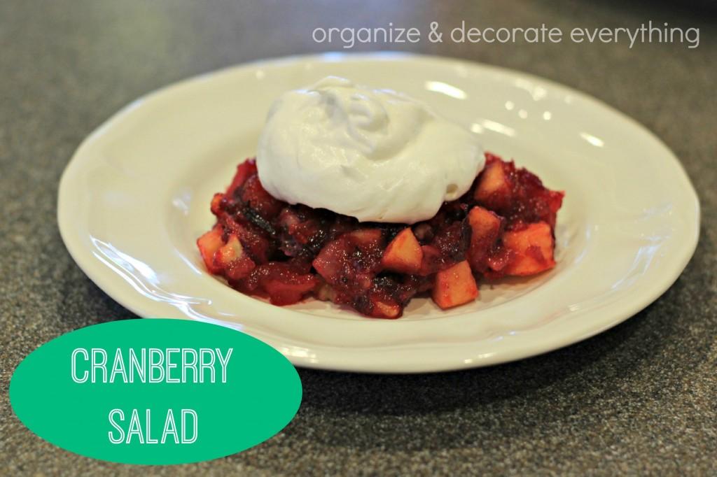 Cranberry Salad.1