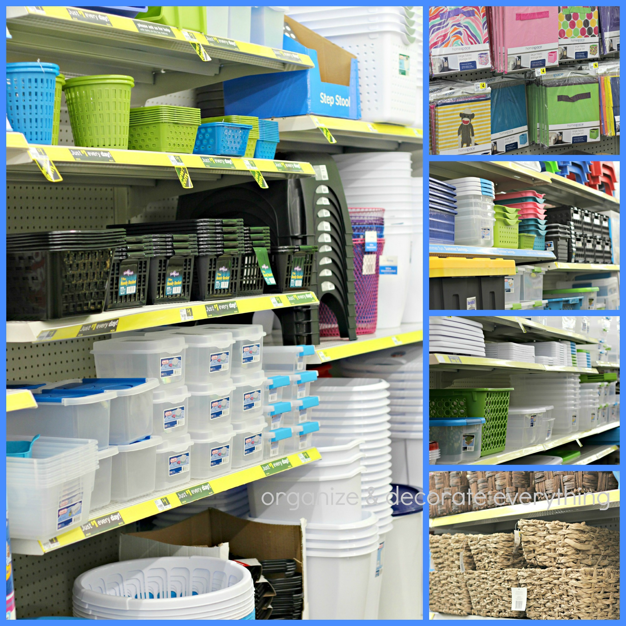 Organize The Kitchen With Dollar General