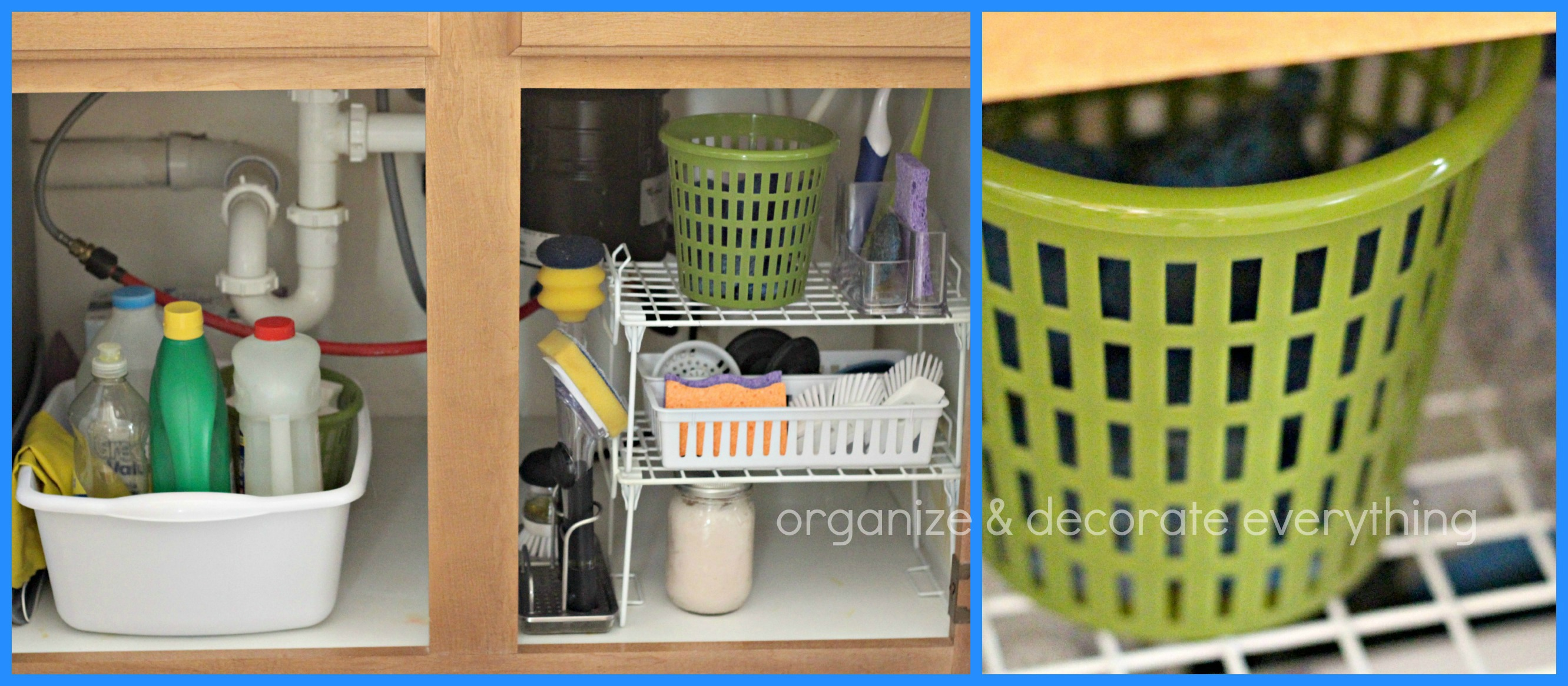 Organize Kitchen Organize The Kitchen With Dollar General Organize And Decorate