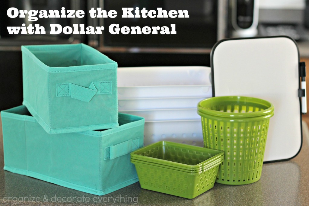 Dollar General kitchen organizing 6.1