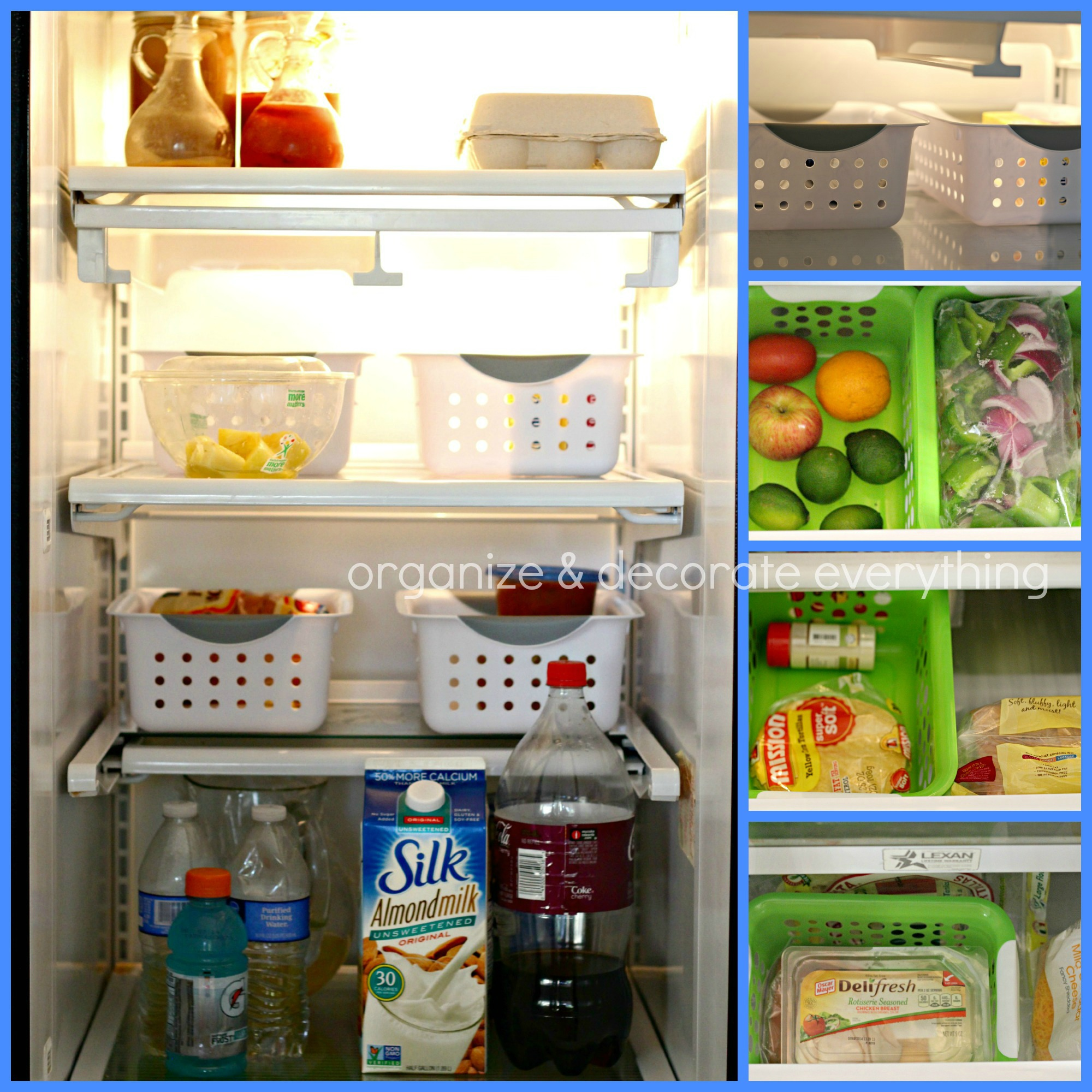 organize the kitchen with dollar general - organize and decorate