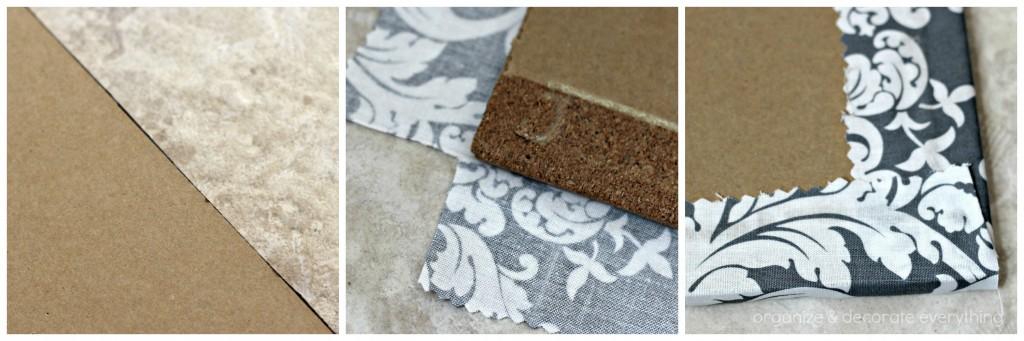 Fabric Covered Cork Board 15