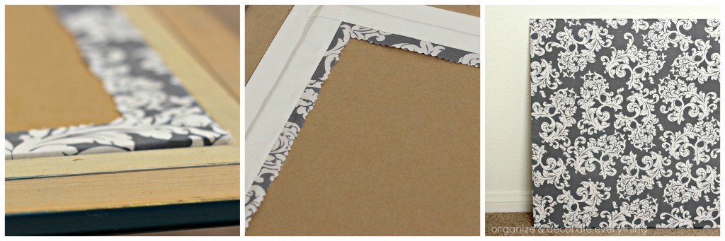 Fabric Covered Cork Board 16