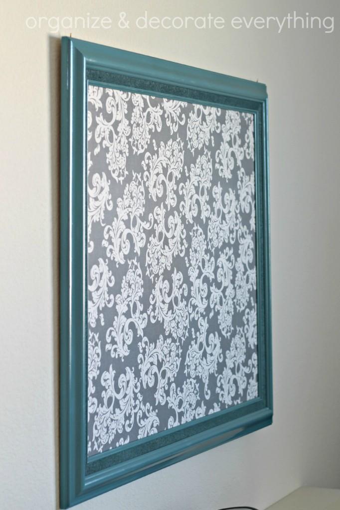 Fabric Covered Cork Board 4.1