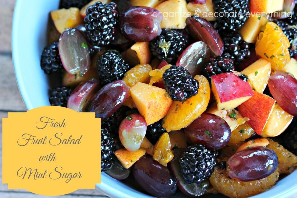 Fruit Salad with Mint Sugar 2.1