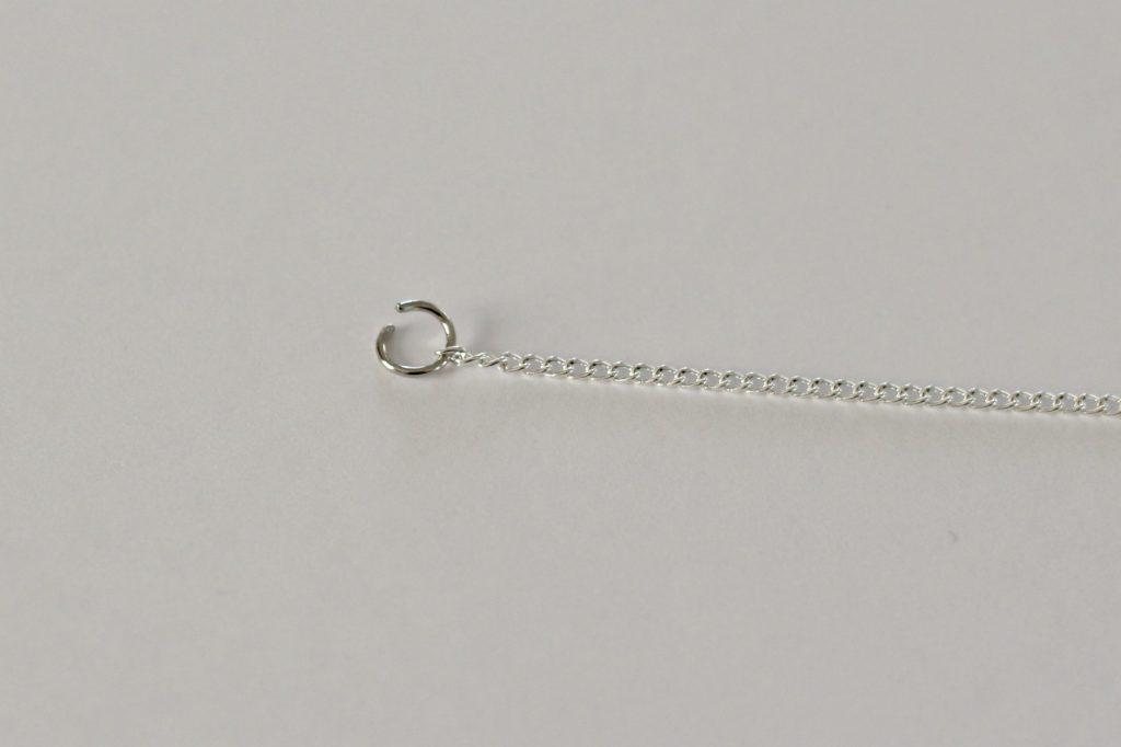 glitter necklace make chain