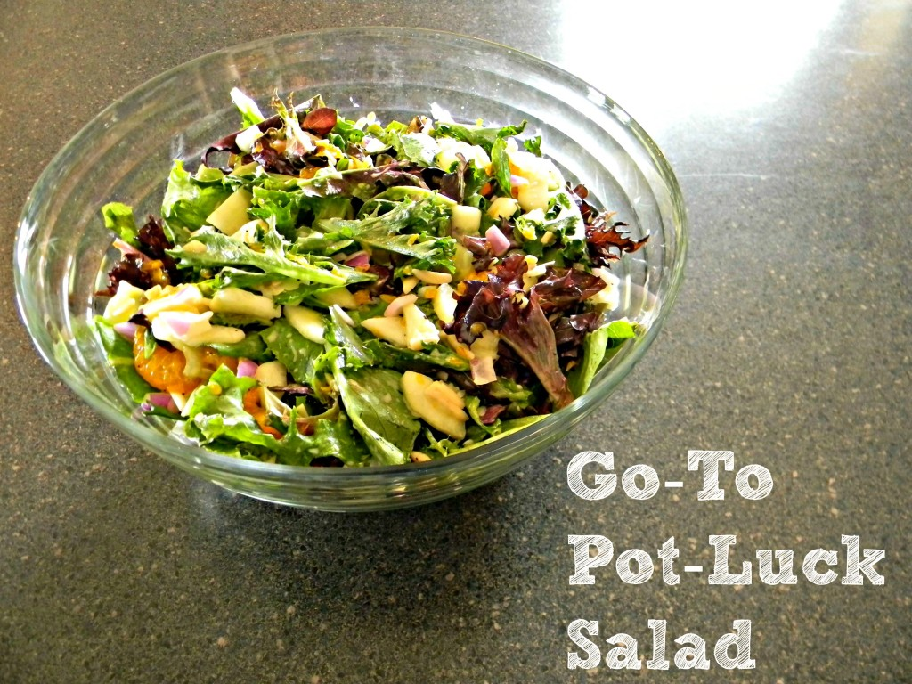 Go-To Salad text