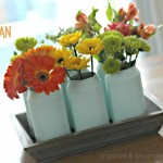 Painted Soda Can Vases