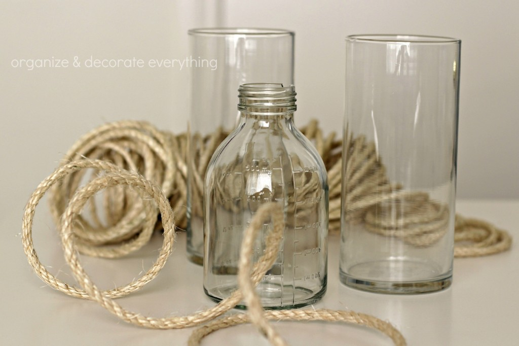 Rope Wrapped Vases.1