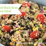 Veggie and Black Bean Quinoa Salad