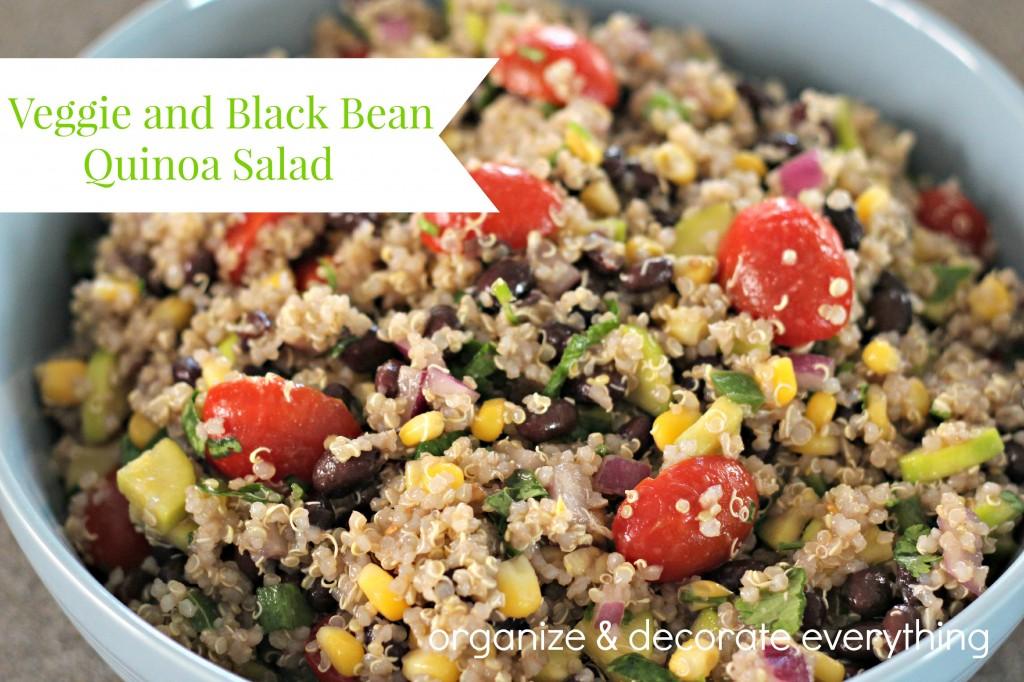 Veggie and Black Bean Quinoa Salad.1