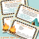 Let's Stay In Touch Cards – Printable Contributor