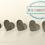 Metal Stamped Push Pins