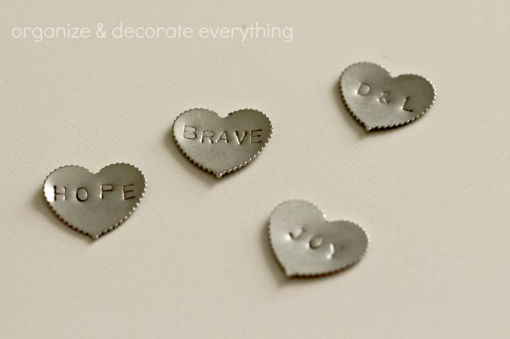 metal stamped push pins 5.