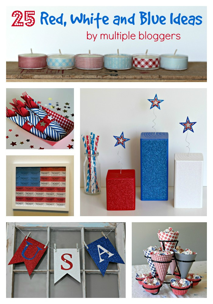 25 Red White and Blue Ideas 2