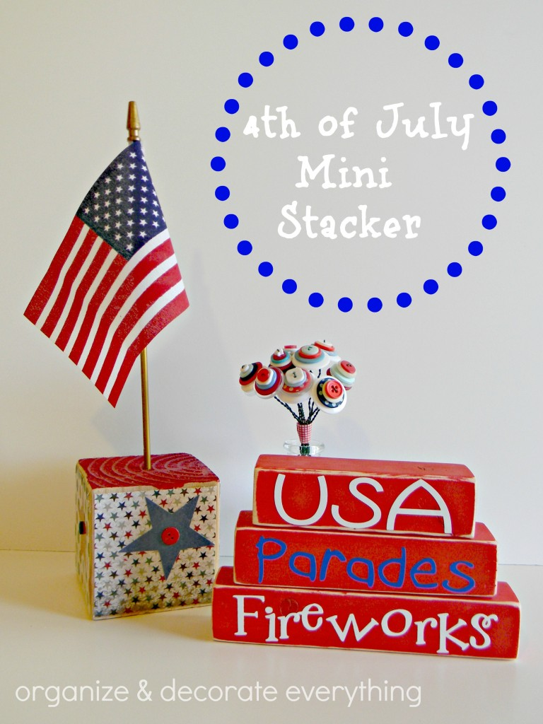 4th of July mini stacker .1