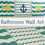 Bathroom Wall Art and Shape Tape™ Giveaway