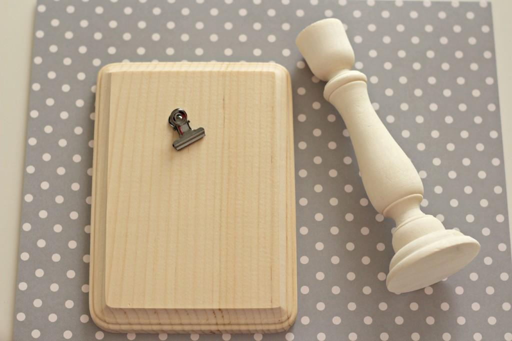 DIY Wood Photo Holder 13