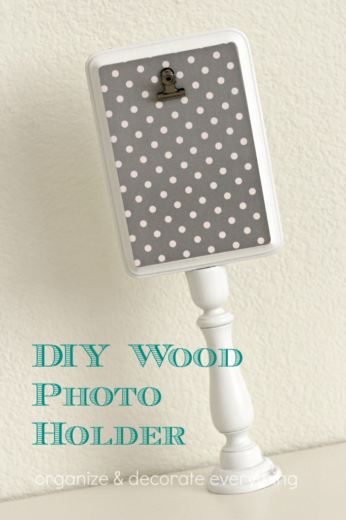 DIY Wood Photo Holder 4.1