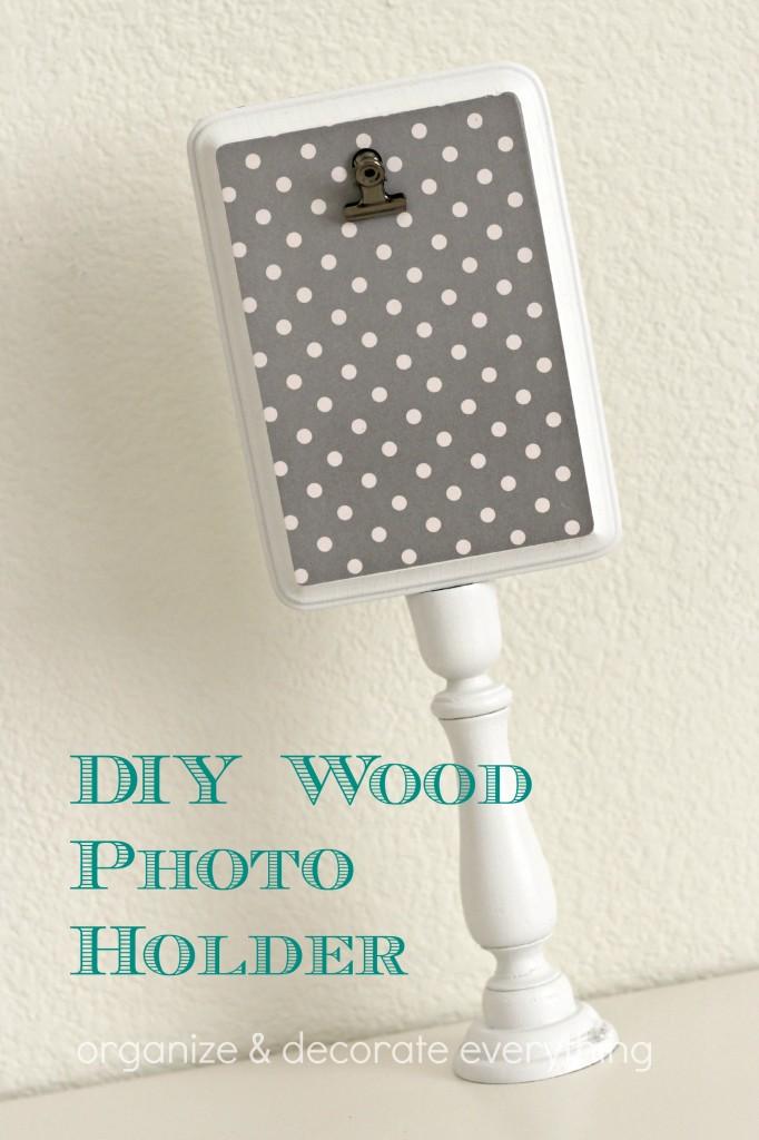 DIY Wood Photo Holder 4.1