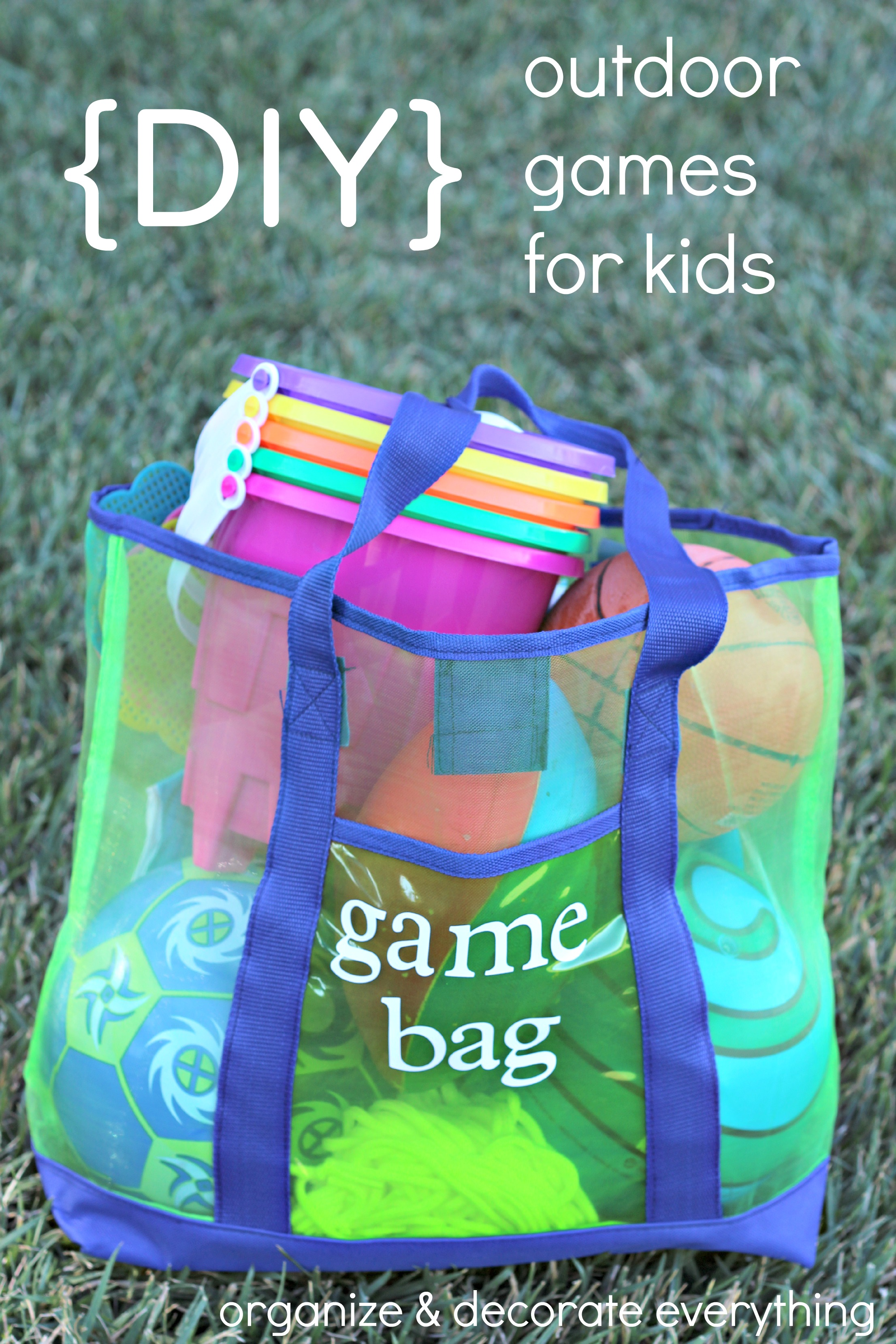DIY Outdoor Games for Kids | Organize and Decorate ...