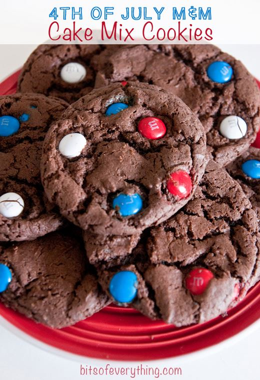 red white blue cookies