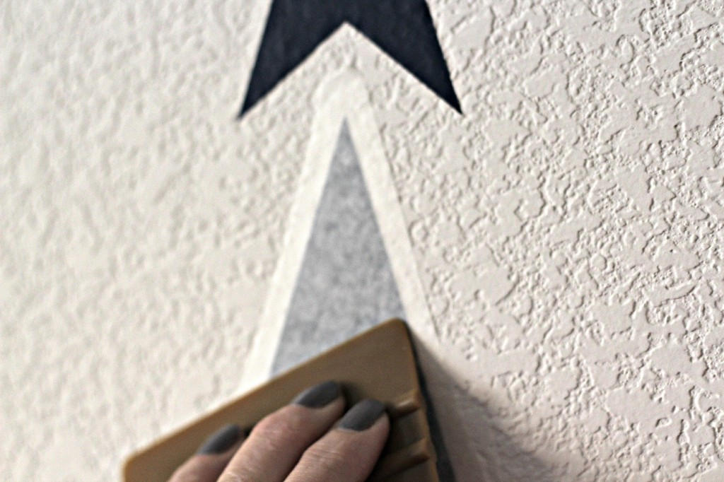 vinyl arrow wall 4