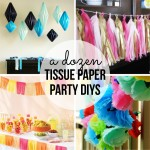 Tissue Paper Party DIY's – Party Contributor