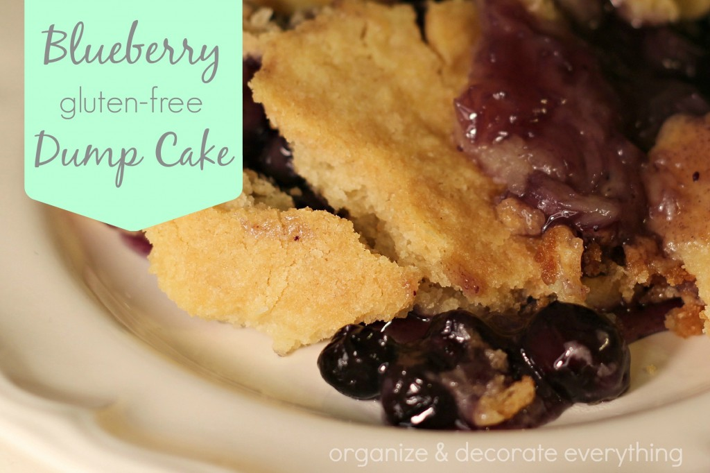 Blueberry Gluten Free Dump Cake 2.1