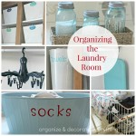 Organizing the Laundry Room
