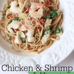 Chicken and Shrimp Fettuccine