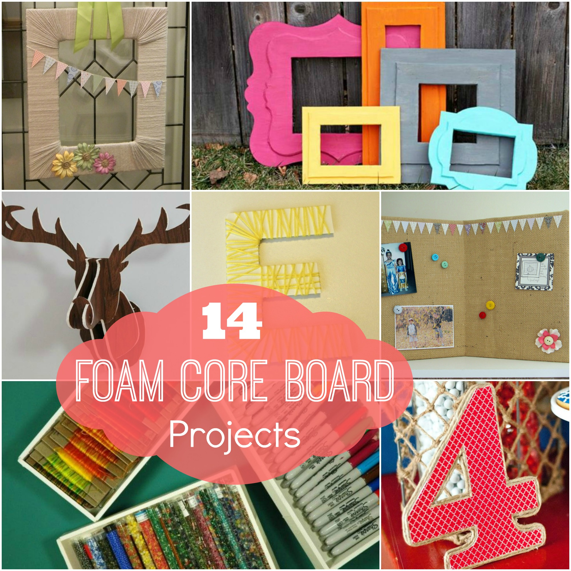 14 Foam Core Board Projects - Organize and Decorate Everything