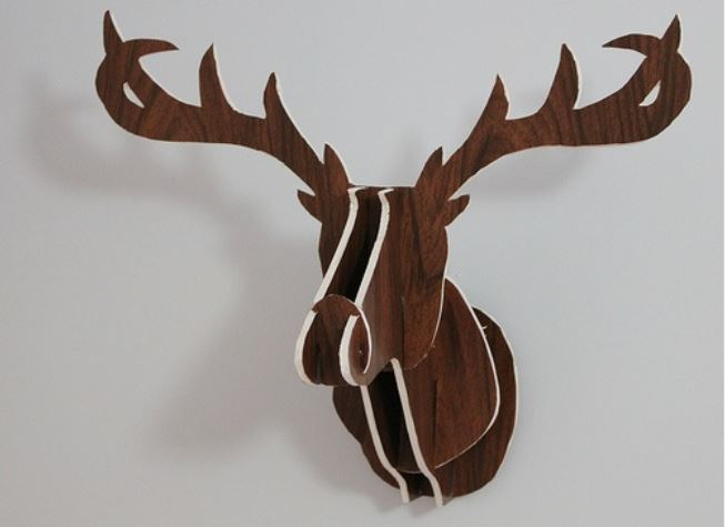 New Deer Head by Mid Craft Crisis