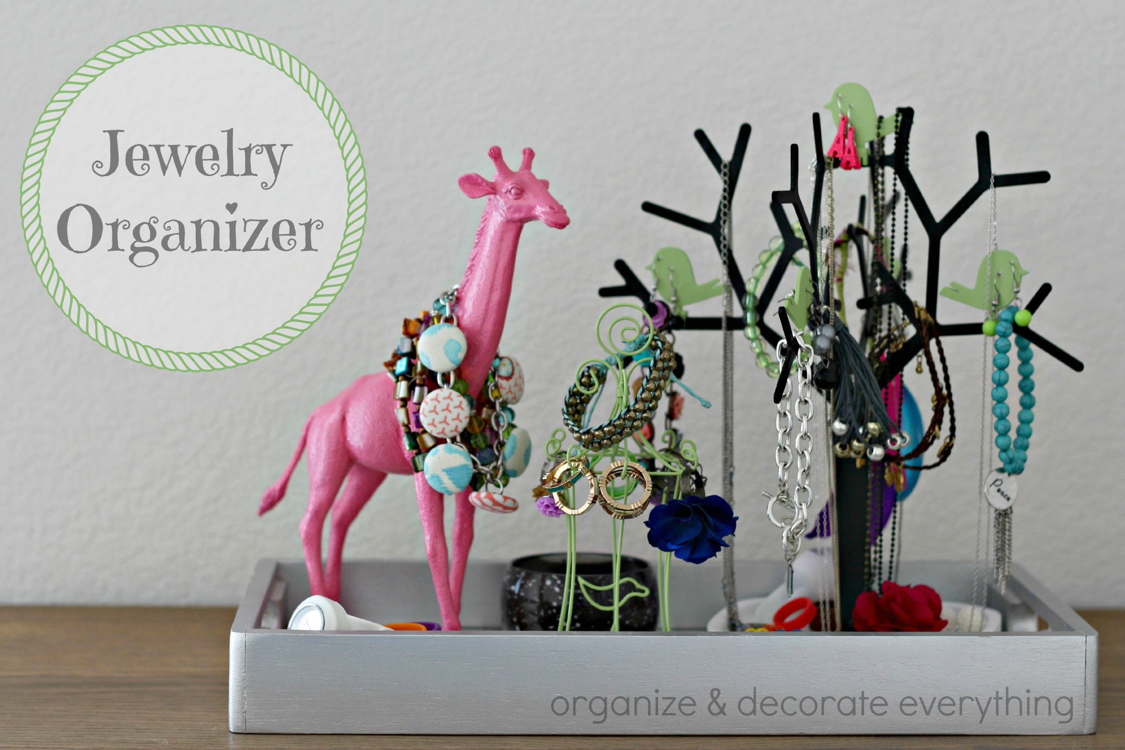 Creative ways to store jewelry organize and decorate everything - Clever diy ways keep jewelry organized ...