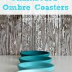 Chalkboard Ombre Coasters
